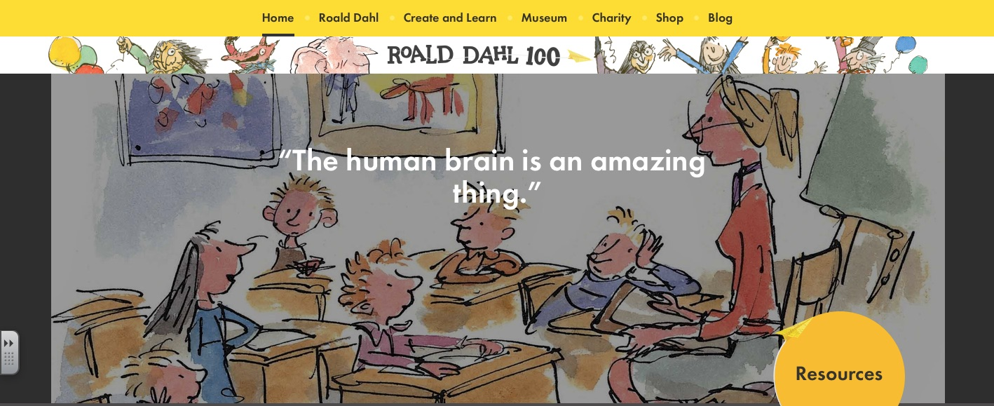 Roald Dahl Day Is Sept 13! Order Free Accessible Versions of His